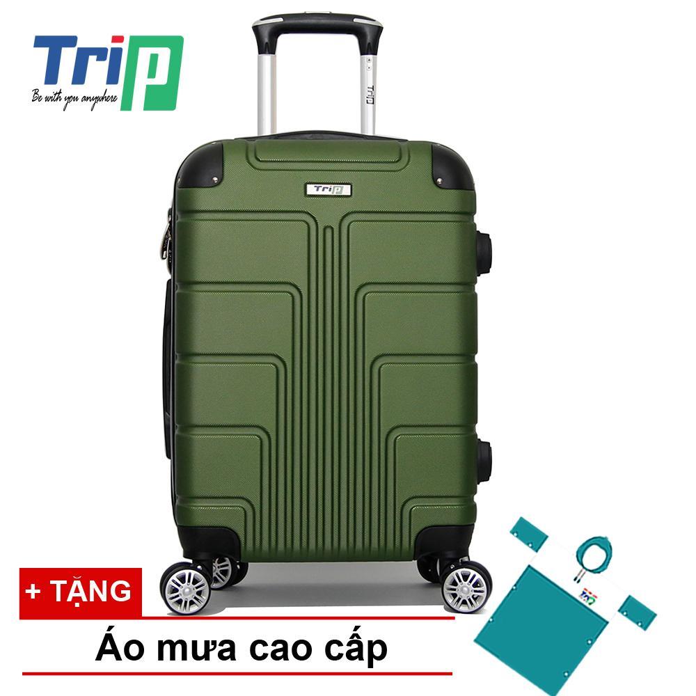 Giá Bán Vali Trip P701 Size 50Cm 20Inch Xanh Reu Nhãn Hiệu Trip