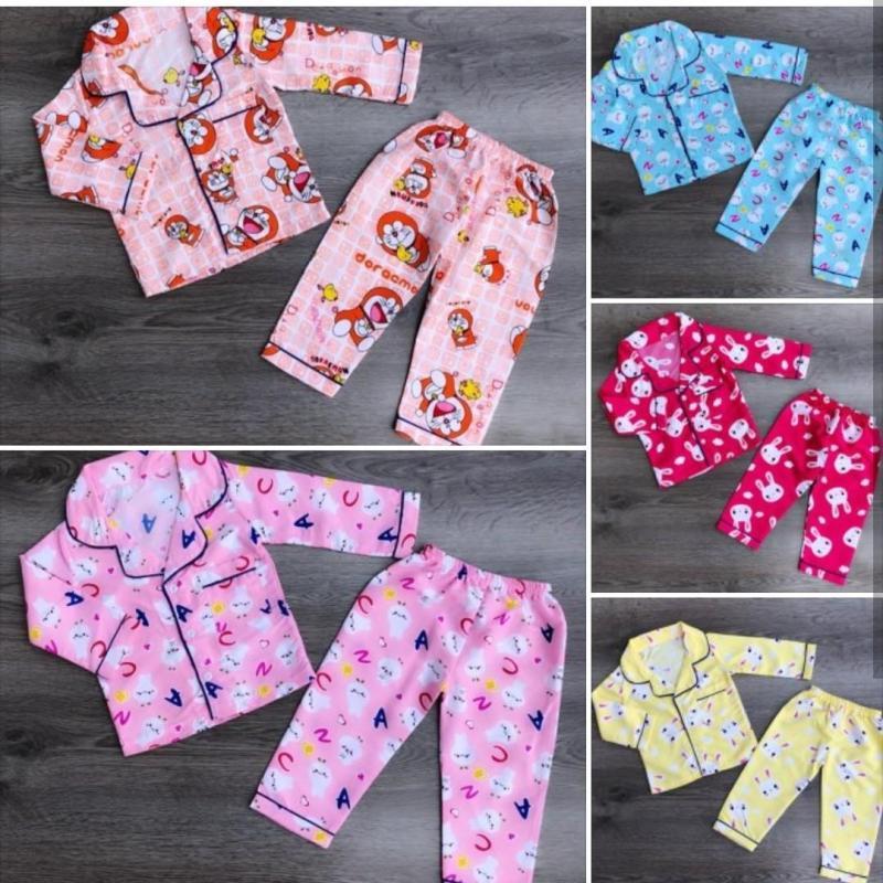 Nơi bán Bộ pijama dài trai gái (Bộ dài cho bé)