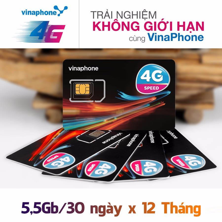 Bán Sim 4G Vinaphone Trọn Goi 1 Năm Có Thương Hiệu