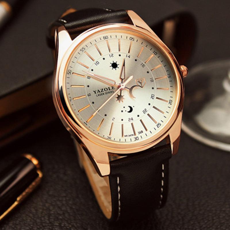 YAZOLE Brand Watch Men Women Watches Quartz Wristwatches Female Male Quartz watch YZL320 Black. Source