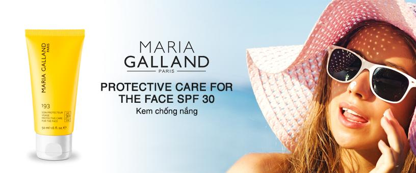 Chống Nắng Maria Galland Protective Care For The Face SPF 30