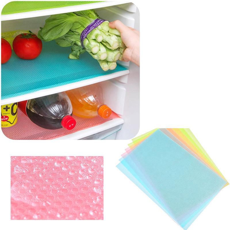 Hình ảnh Combo 4 miếng lót làm sạch tủ lạnh
