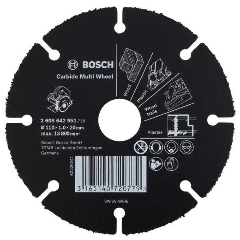 Lưỡi cưa đa năng 110x20/16x1.0mm, 2608643066, Bosch
