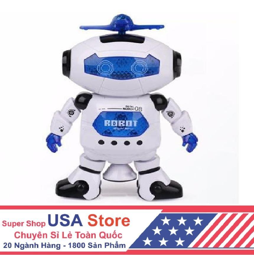 Hình ảnh Robot Biết Nhảy Và Hát Xoay 360 Độ US04019 [Free Ship]