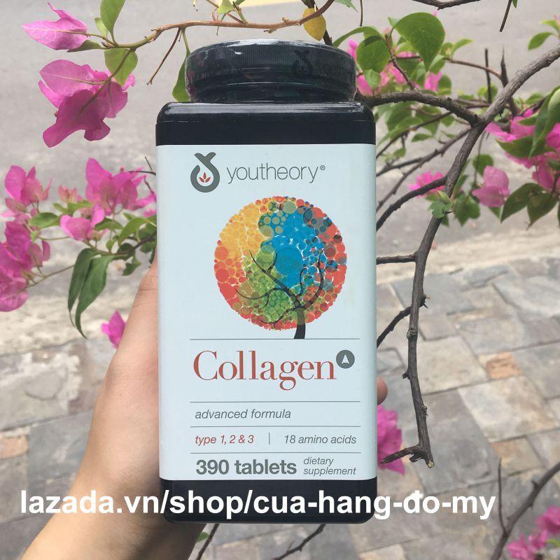 Hình ảnh Viên Uống Collagen Youtheory Advanced Formula 390 Viên