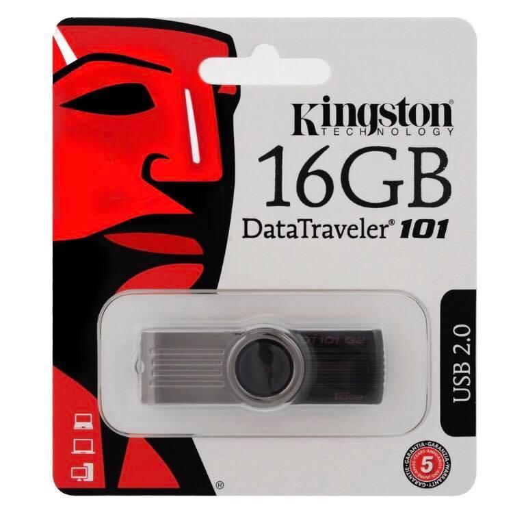 Hình ảnh USB Kingston 16GB DT101 G2 2.0 - TEM FPT - BH 5 NĂM 1 ĐỔI 1