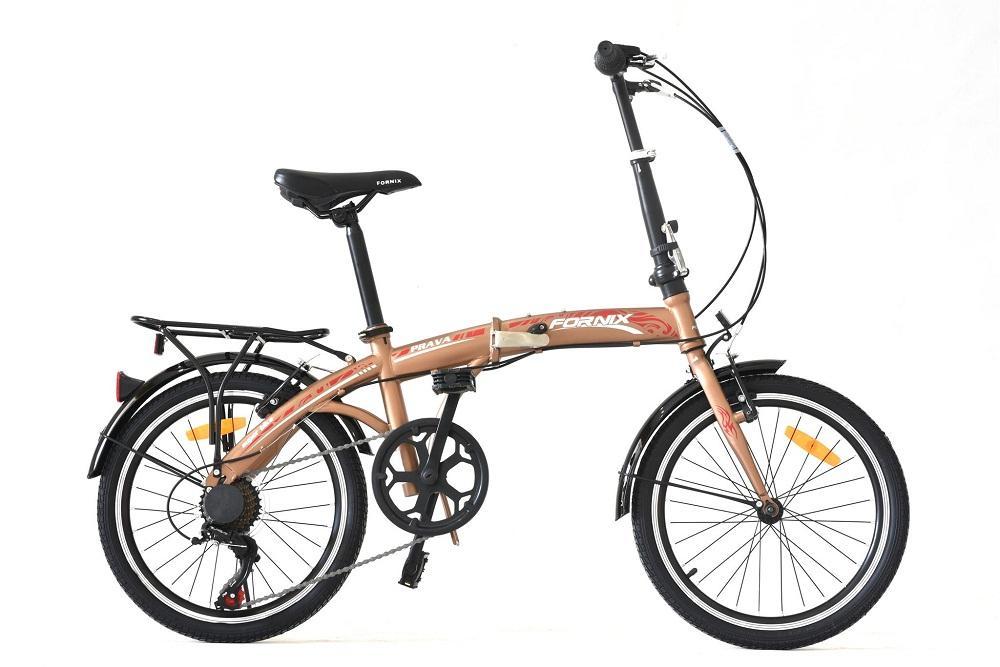 Xe đạp gấp hiệu FORNIX, mã PRAVA  (ĐỒNG)