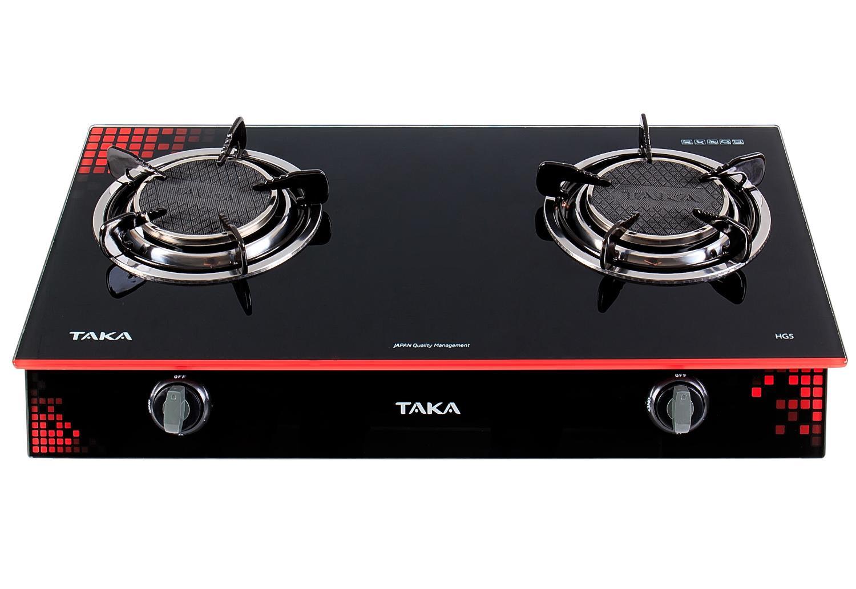 Bếp gas dương hồng ngoại siêu tiết kiệm nhiên liệu Taka TK- HG5