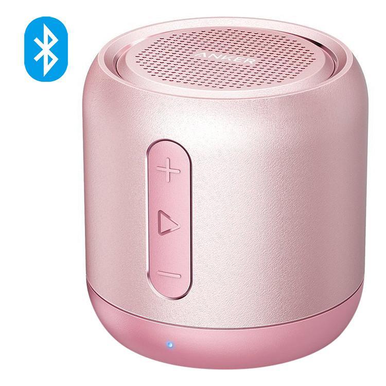 Loa bluetooth di động ANKER SoundCore Mini Stereo Speaker (Hồng)