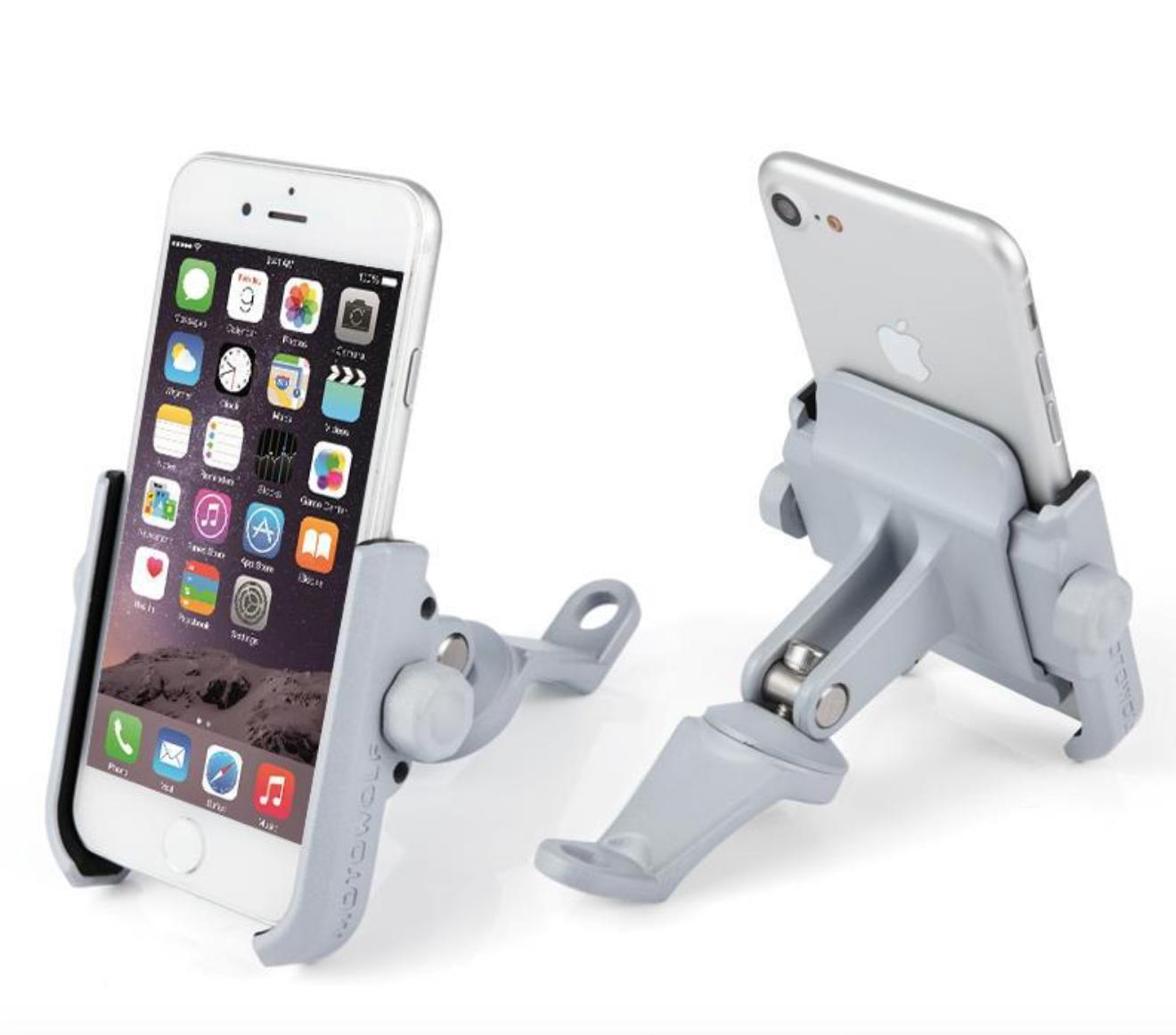 Hình ảnh Giá điện thoại gắn chân kính xe máy