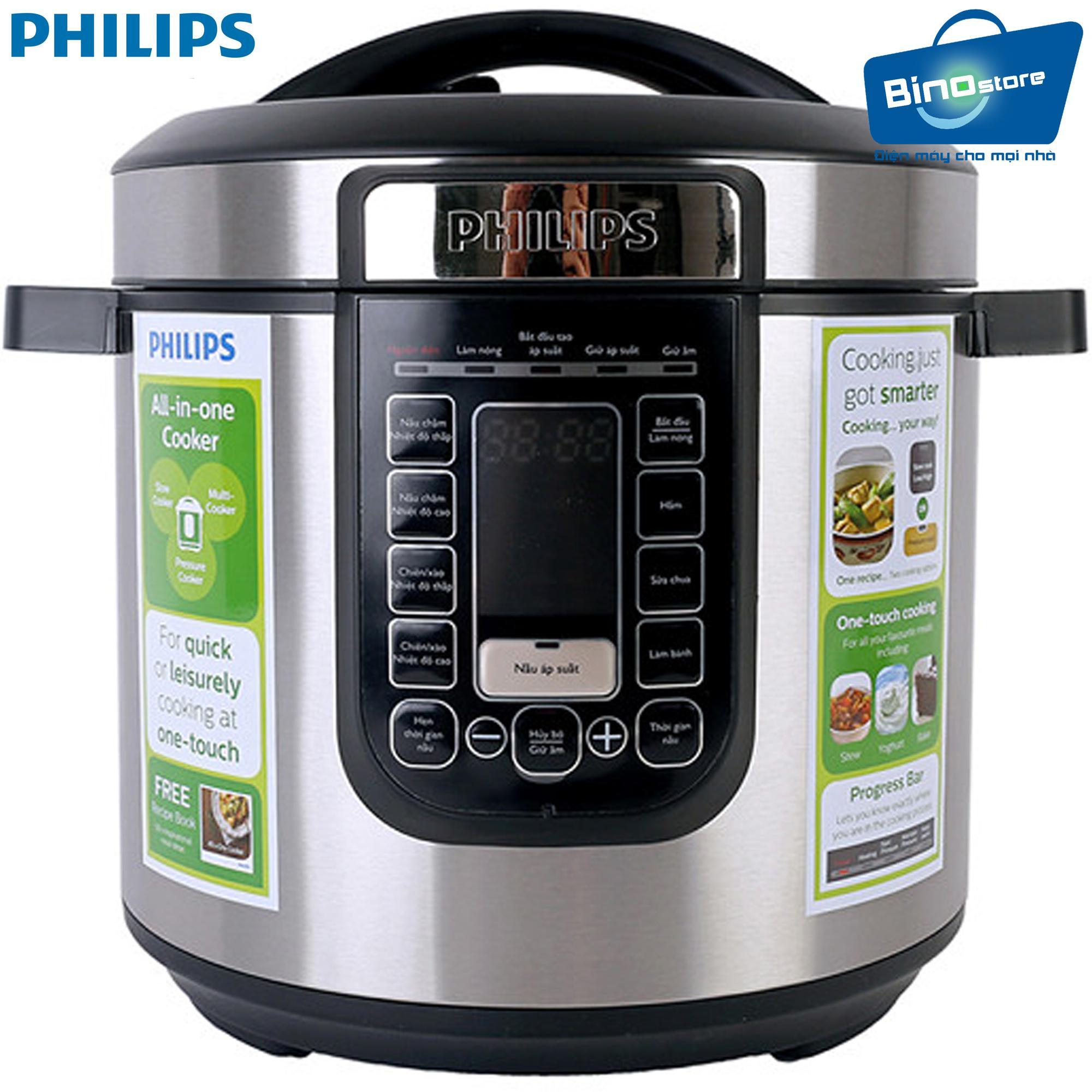 Hình ảnh Nồi áp suất điện Philips HD2137/65 6L - Hàng nhập khẩu