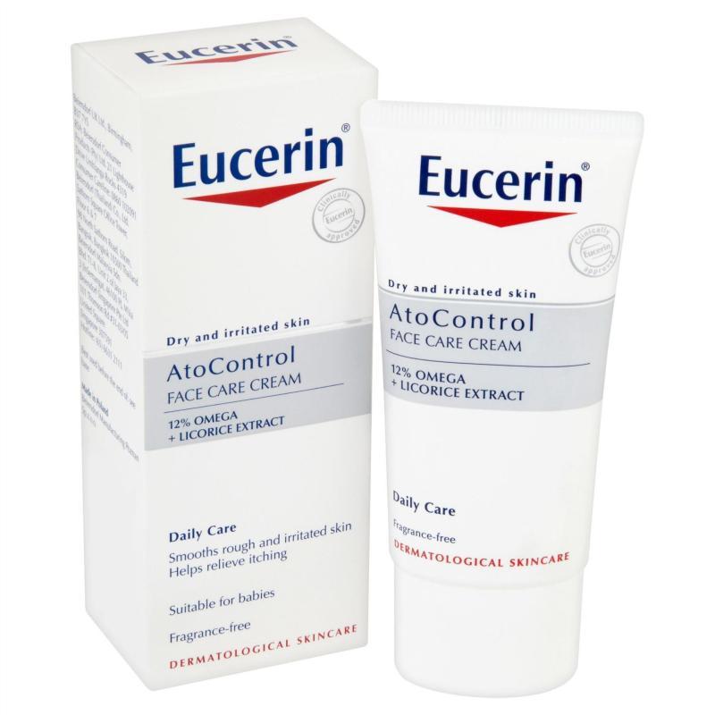 EUCERIN - KEM DƯỠNG DA MẶT DÀNH CHO DA DỊ ỨNG ATO CONTROL SOOTHING CREAM 50ML nhập khẩu