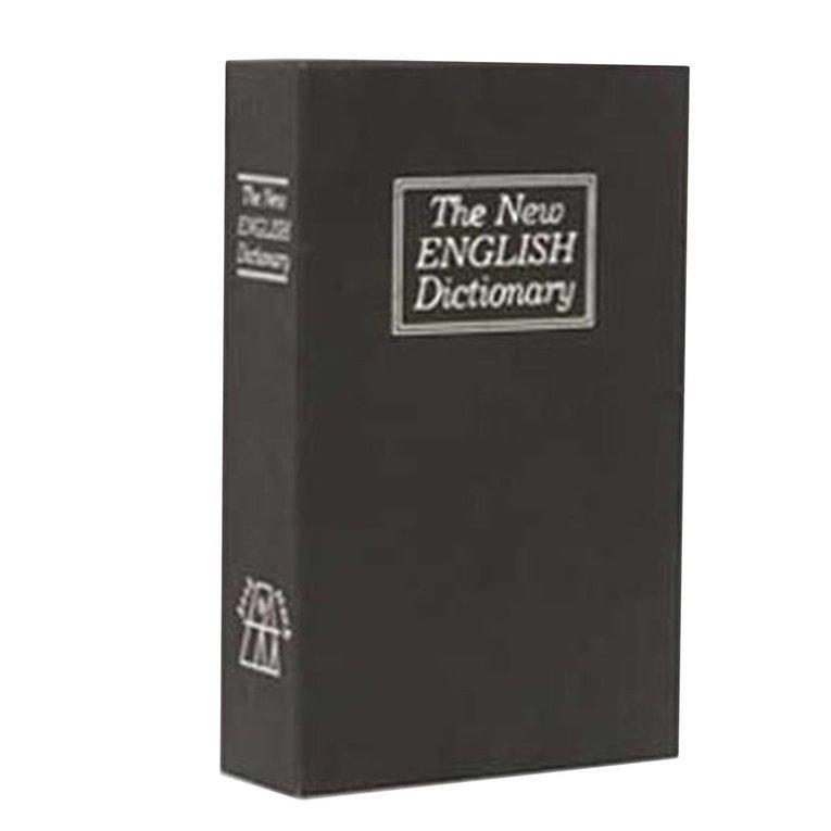 WOND Creative English Dictionary Deposit Money Box with Password Key Storage Box - L