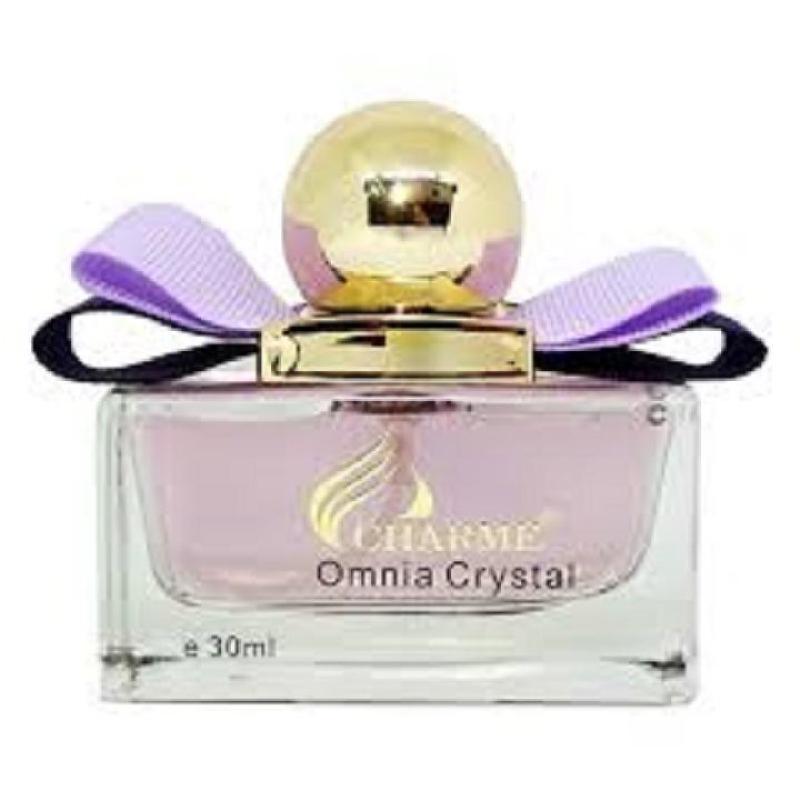 Nước hoa nữ Charme Omnia Crystal (30ml) - QUYẾN RŨ ĐẦY QUÝ PHÁI