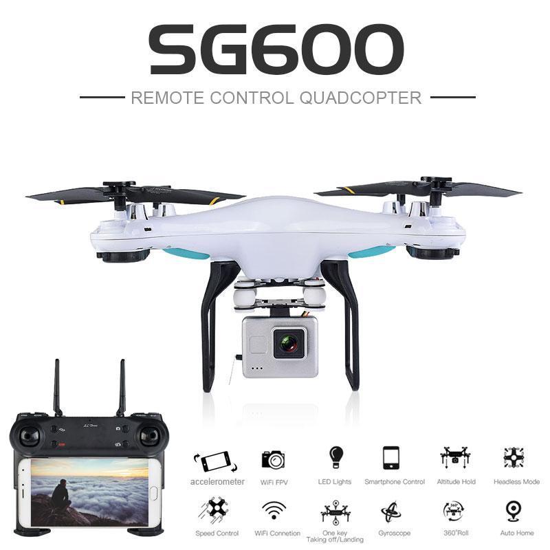Flycam Thế Hệ Mới SG600, Camera FPV Ttruyền Hình Ảnh Trực Tiếp Về Điện Thoại RC Drone Nhật Bản