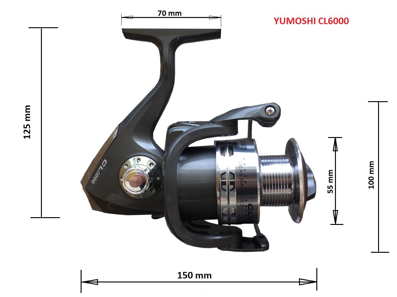 Hình ảnh Máy câu cá YUMOSHI CL6000 - 12 BEARINGS