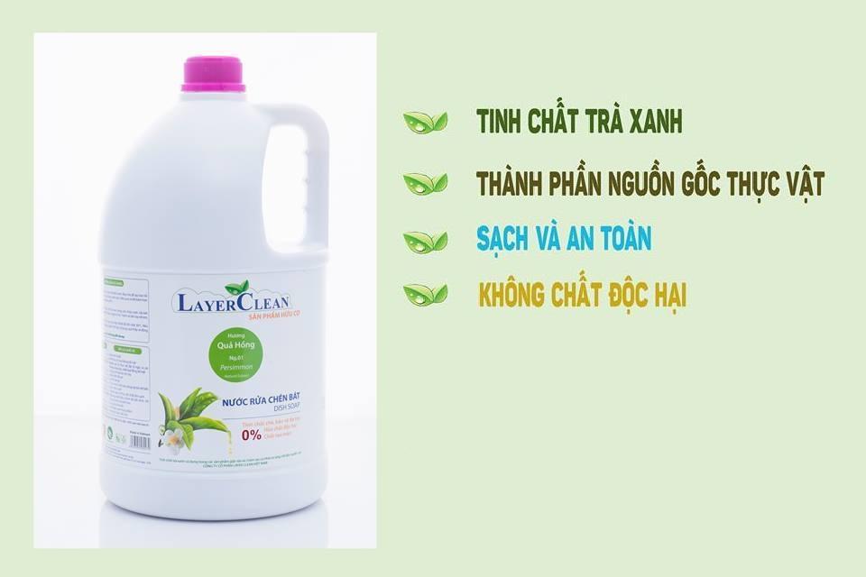 Ôn Tập Nước Rửa Chen Bat Layer Clean Can 5L Hương Quả Hồng Mới Nhất