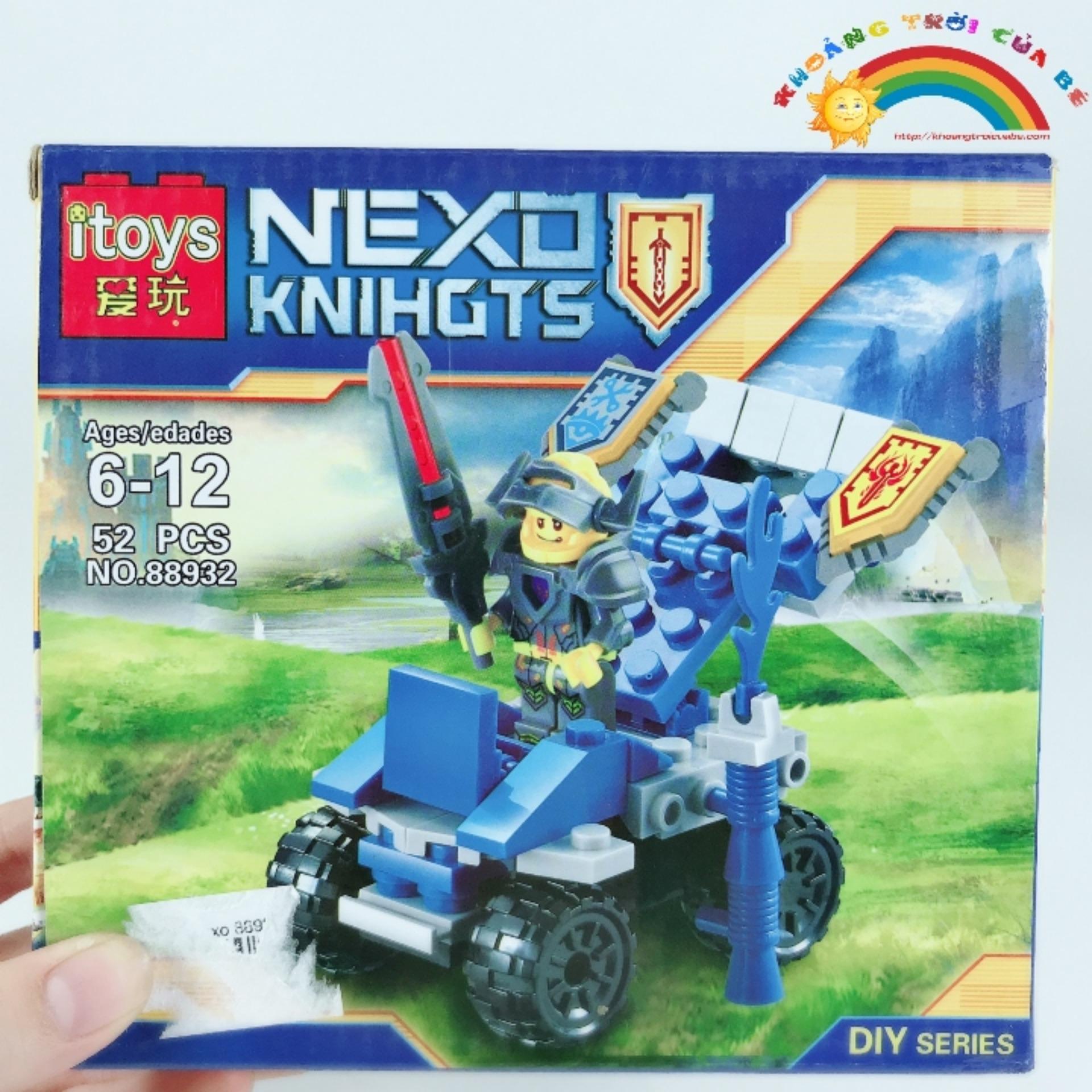 Hình ảnh Trò chơi Lắp Ghép Nexo 88932 KD934