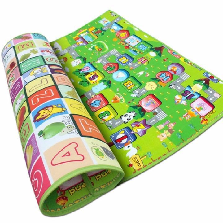 Hình ảnh Thảm xốp Maboshi 2 mặt cho bé 200 x 220 x 0.5cm - vt28