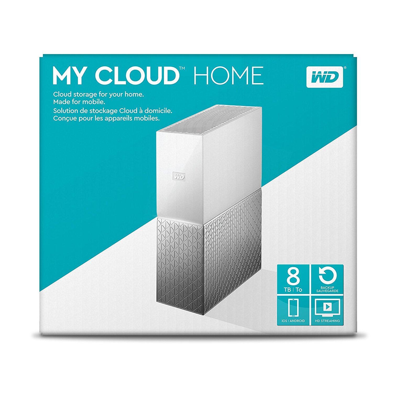 Hình ảnh My Cloud Home Personal Cloud Storage 8TB - WDBVXC0080HWT-NESN - Hàng Xách Tay