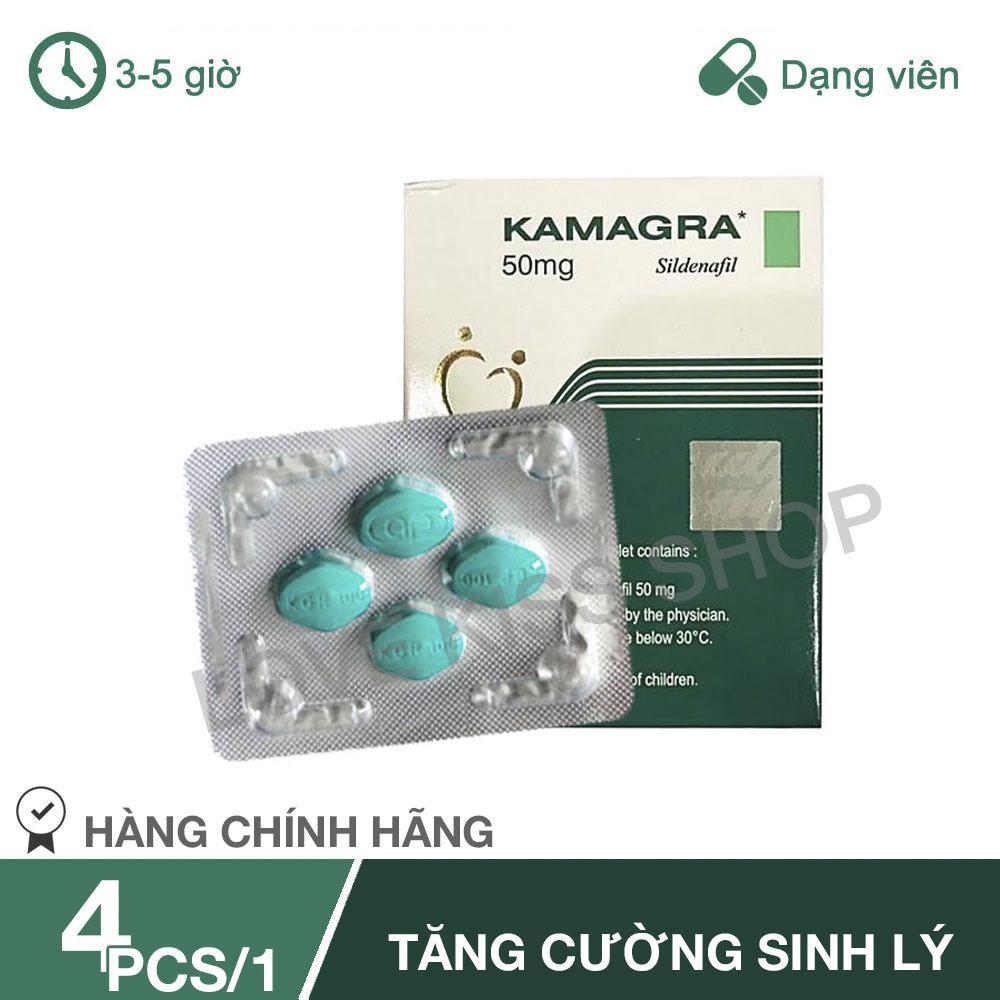Tinh chất hỗ trợ sức khỏe phái mạnh Kamagra [ LOVEKISS-TC01 ]