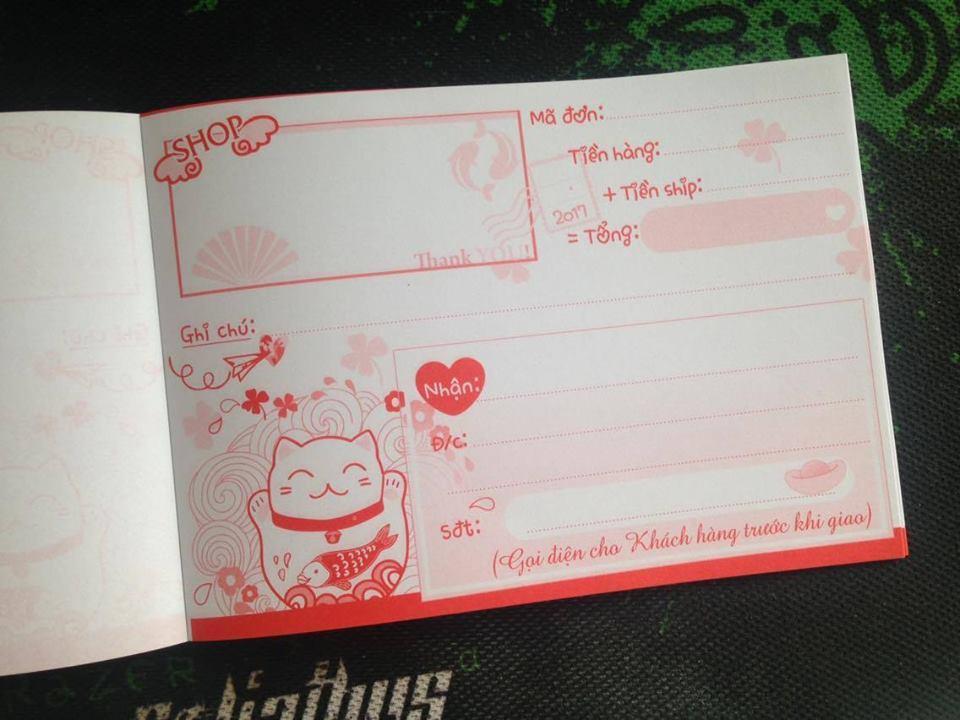Mua 10q Phiếu ship hàng Mèo Thần Tài