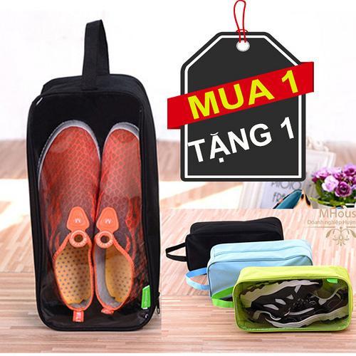 Hình ảnh Mua 1 Tặng 1. Túi Giày chống thấm nước. Túi đa năng đựng các vật dụng khác