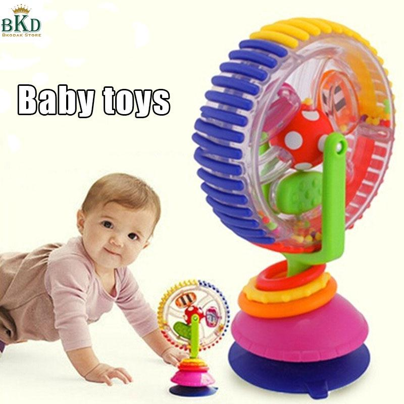 Hình ảnh Sassy Developmental Wonder Wheel Sky Wheel Baby Infant Multi-touch Baby