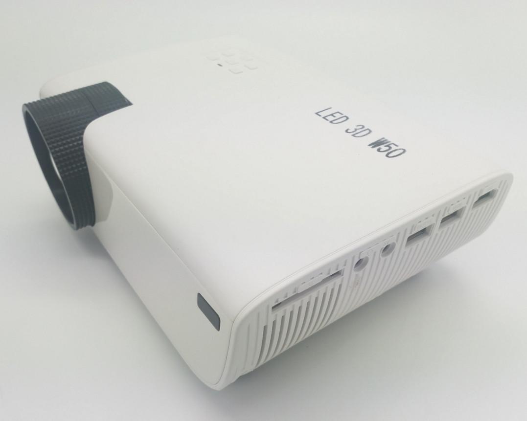Máy chiếu 3D Led W50 giải trí đa phương tiện HD1080p
