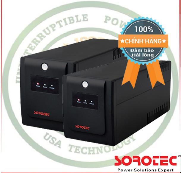 Giá Bán Bộ Nguồn Lưu Điện Cao Cấp Ups Sorotec Bl1000 1000Va 600W Mau Đen Black Rẻ
