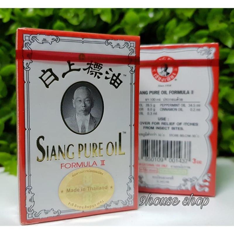 01 Dầu Trắng Siang Pure Fomula II 3cc Thái Lan nhập khẩu