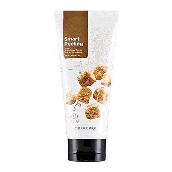 Tẩy Da Chết Đường Đen The Face Shop Smart Peeling Honey Black Sugar Scrub 120ml