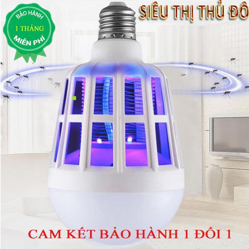 Hình ảnh [XẢ KHO 3 NGÀY] Bóng đèn led chiếu sáng kiêm đèn bắt muỗi và côn trùng / đuổi muỗi diệt muỗi