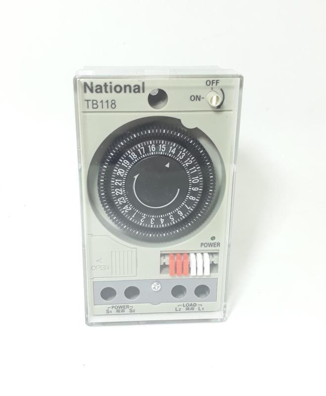 Công tắc hẹn giờ công suất lớn National TB118 (rơ le thời gian 15A)