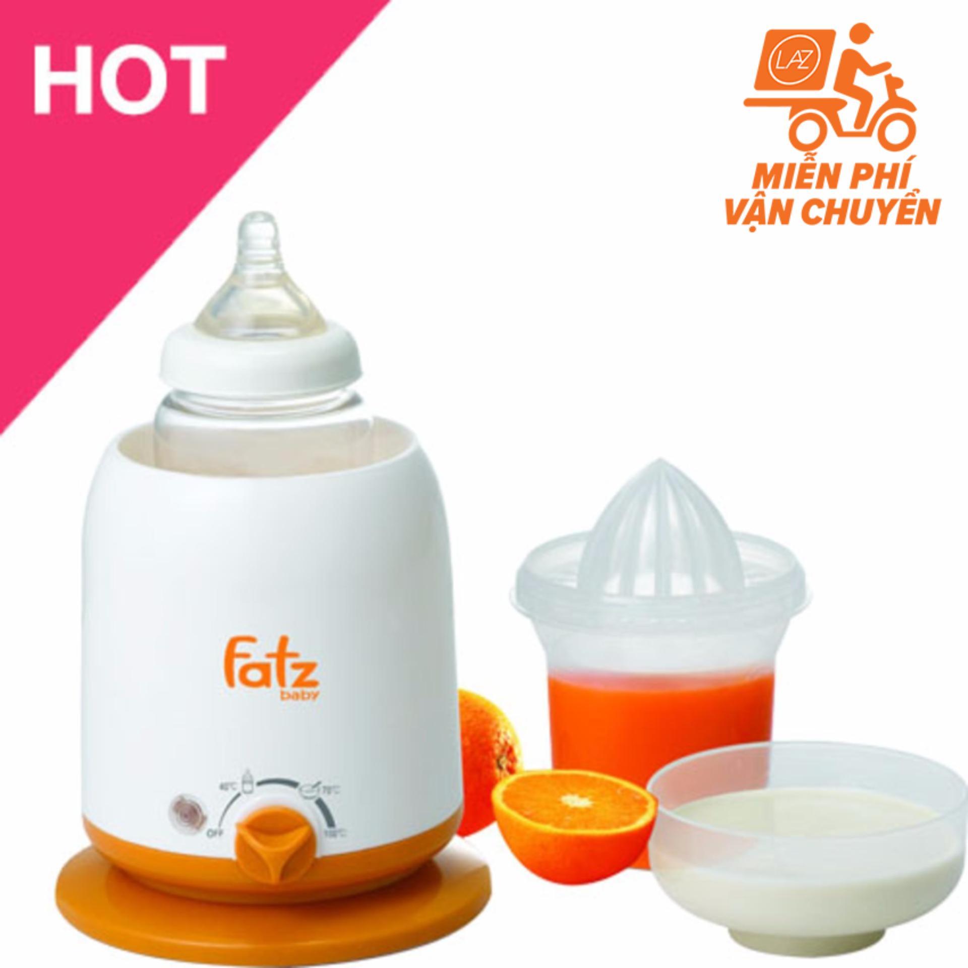 Mã Khuyến Mại May Ham Sữa Fatzbaby Fb3002Sl Trắng Phối Cam Fatzbaby