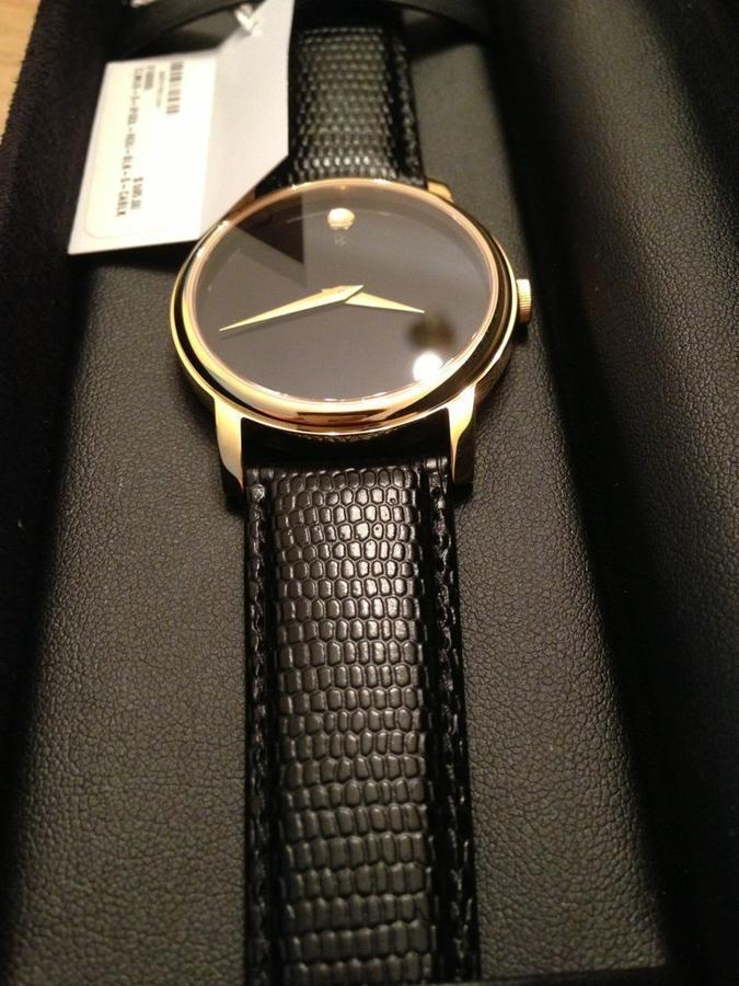 Đồng hồ Movado vàng Sang trọng - Quý phái