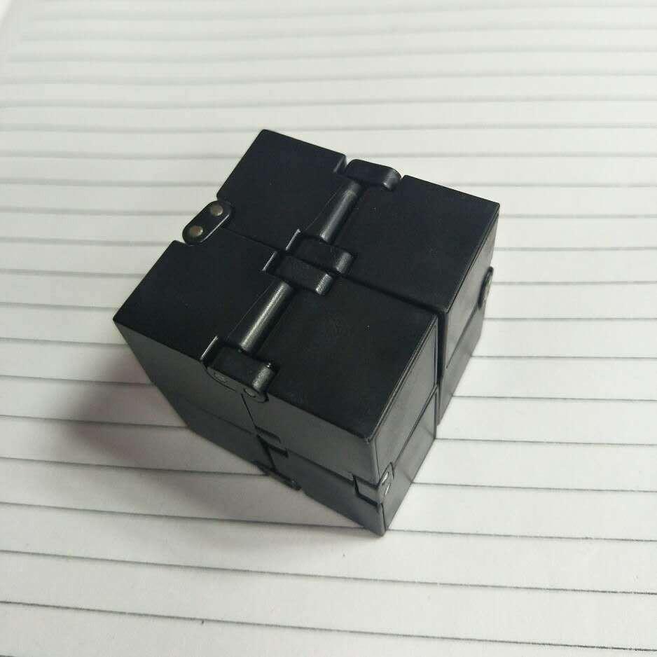 Hình ảnh Khối lập phương (Rubik) vô cực INFINITY CUBE thần kỳ (Đen) MLS49