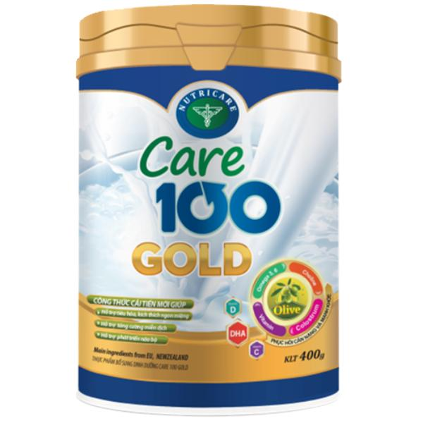 sữa care 100 gold 900g