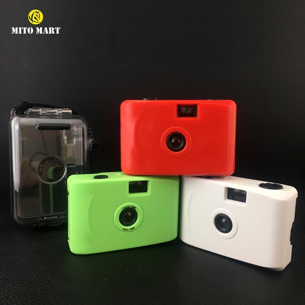 Hình ảnh [Mã giảm giá MAYANH20] Máy chụp ảnh mini dưới nước kèm film