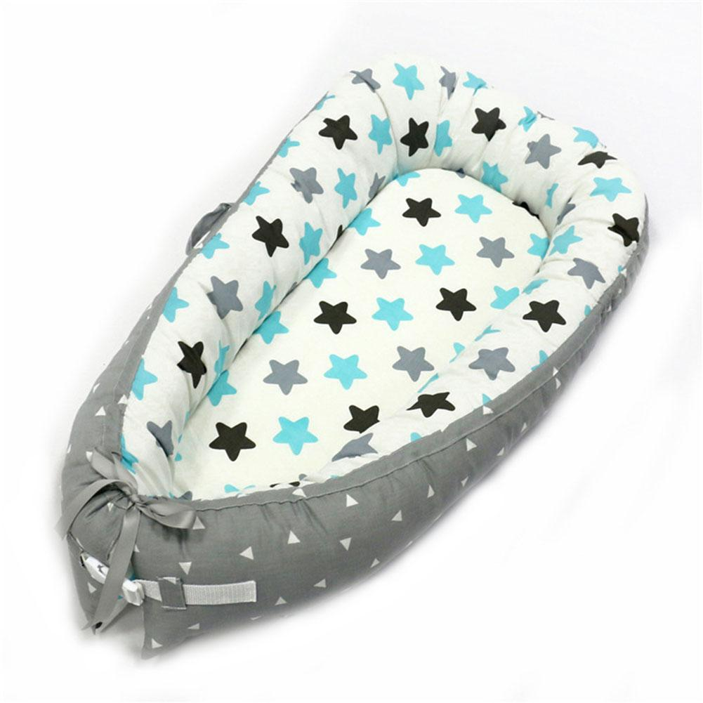 Multifunction Double-sided Baby Nest Sleep Bed Portable Soft Cotton Nest Pad