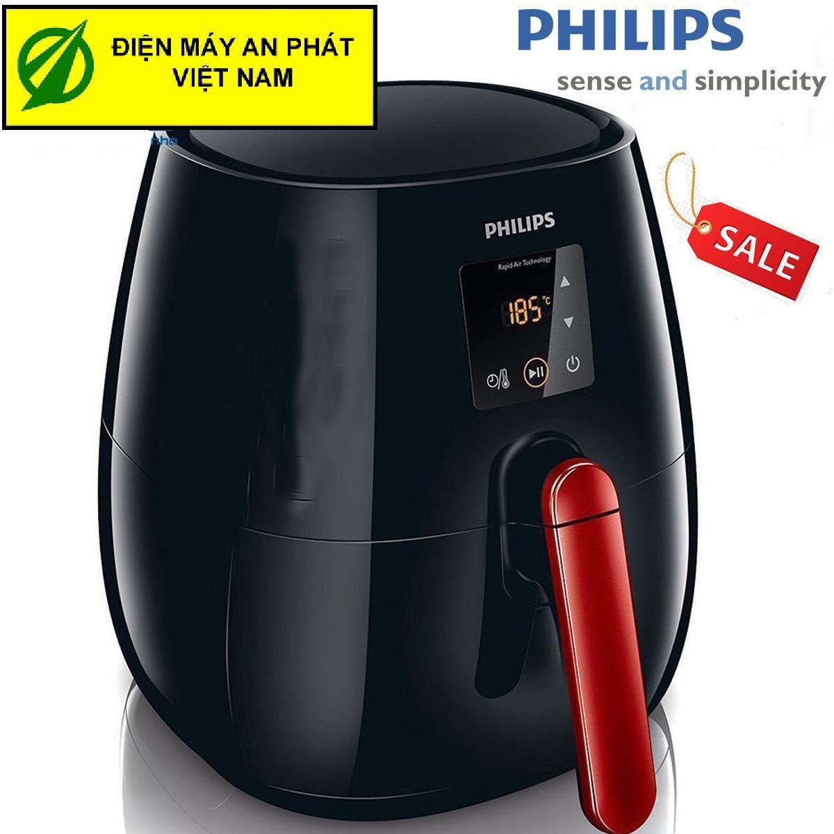 Hình ảnh Nồi Chiên Không Khí Điện Tử Đa Năng Philips Hd9238 - Hàng Nhập Khẩu(Màu Đen)
