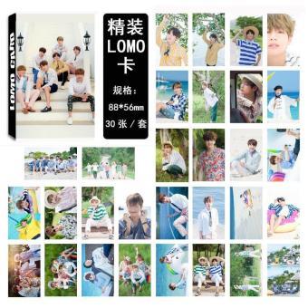 Pencarian Termurah 30 Pcs BTS Album LOMO Kartu Mode Terkini Buatan Sendiri Kertas Kartu Foto HD