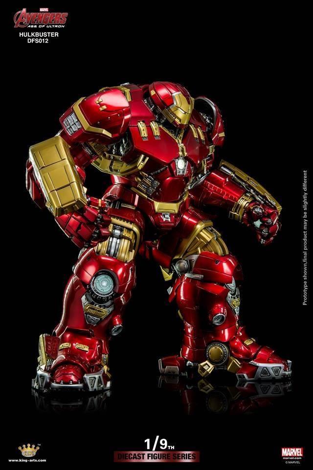 Hình ảnh Mô hình Iron Man mk4 Hulkbuster Avengers