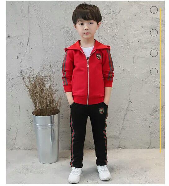 Hình ảnh Bộ quần áo thu đông cực kỳ đáng yêu cho bé từ 1-5 tuổi