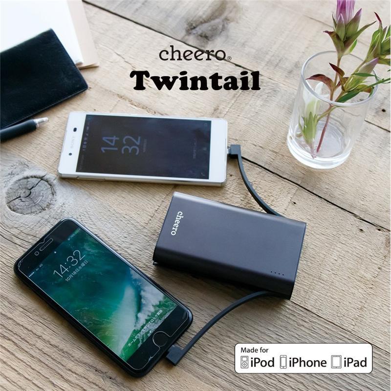 Pin dự phòng Nhật Bản cực bền đẹp pin lâu cheero Twintail CHE-089 (10050 mAh) – Review và Đánh giá sản phẩm