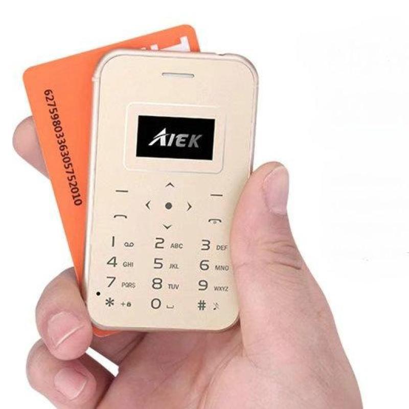 Điện thoại mini Aiek X8 siêu nhỏ 2018 Hàng nhập khẩu (Gold)