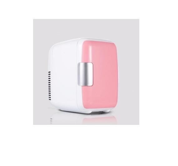 Hình ảnh Tủ lạnh mini dành cho xe hơi 4 Lít (hồng và xanh)
