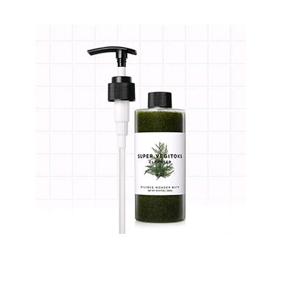 Bán Sữa Rửa Mặt Rau Củ 3 In 1 Tẩy Trang Rửa Mặt Thải Độc Tố Byvibes Wonder Bath Super Vegitoks Cleanser 300Ml Rẻ