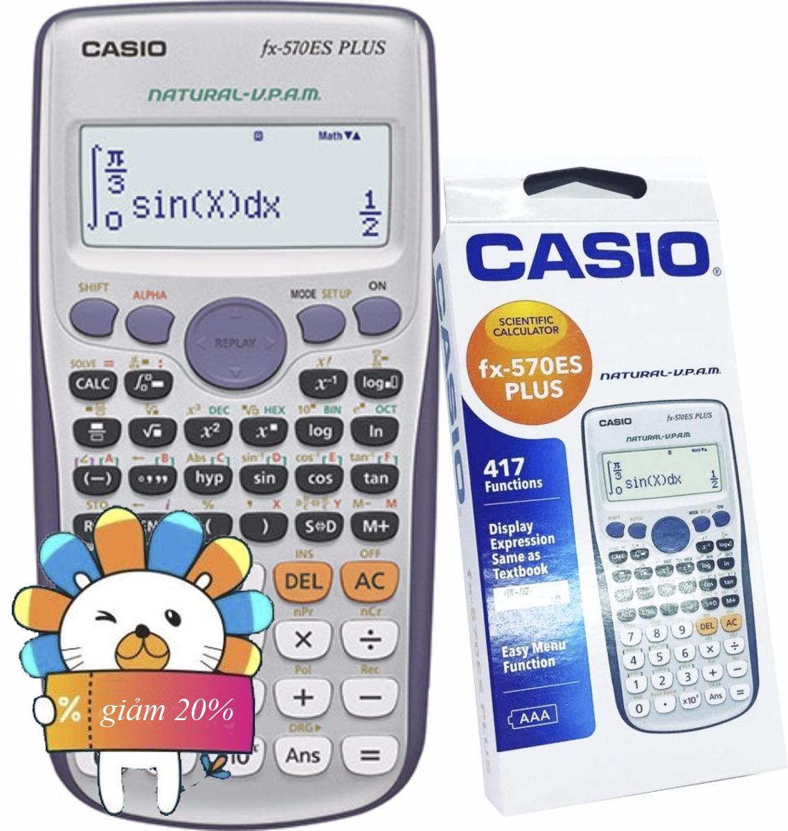 Mua Casio-Calculator-Fx-570-Es-Plus