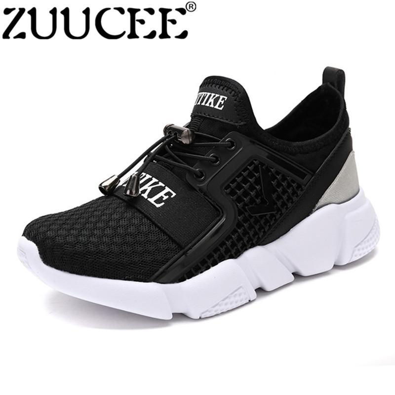 Zuucee Anak Laki-laki Low-Cut Sepatu Korea Sepatu Olahraga Napas Anak-anak cb9023aa5a